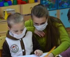Больной раком ребенок