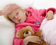 Подьем температуры у ребенка