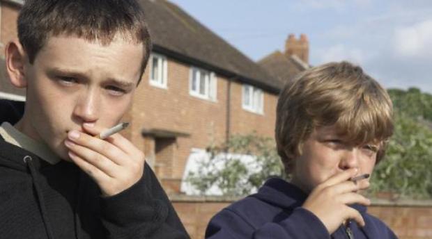 Курение в раннем возрасте