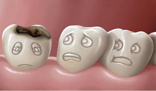 Кариозный зуб