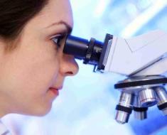 Микроскопического исследования мазков