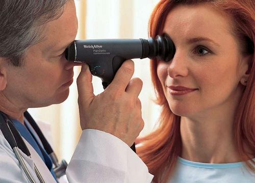 Офтальмоскопия сетчатки